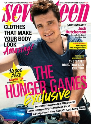 Josh Hutcherson, Seventeen