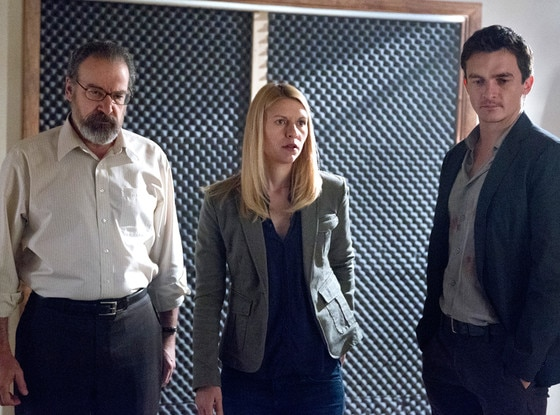 Mandy Patinkin, Claire Danes, Rupert Friend, Homeland