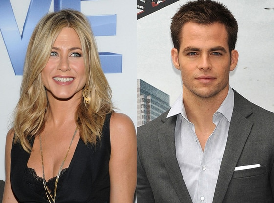 Jennifer Aniston, Chris Pine