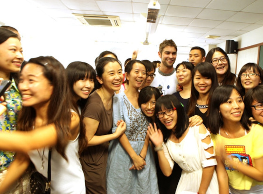 Chace Crawford, China