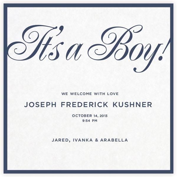 Ivanka Trump, Joseph Frederick Kushner