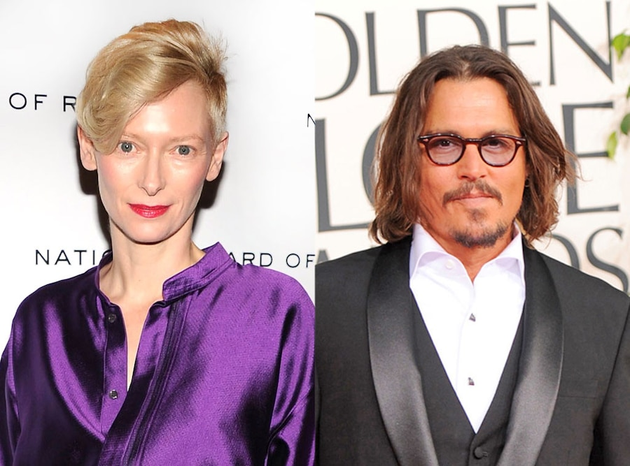 Tilda Swinton, Johnny Depp