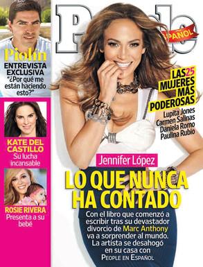 Jennifer Lopez, People en Espanol