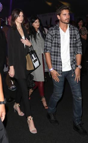 Kendall Jenner, Kylie Jenner, Scott Disick