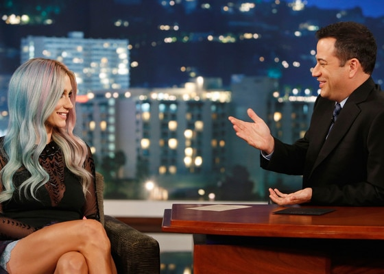 Kesha, Ke$ha, Jimmy Kimmel Live
