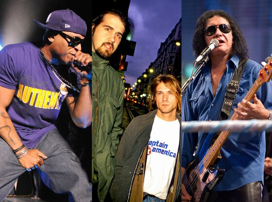 Nirvana, LL Cool J, Kiss