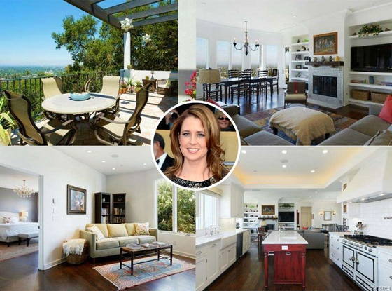 Jenna Fischer, Studio City Home