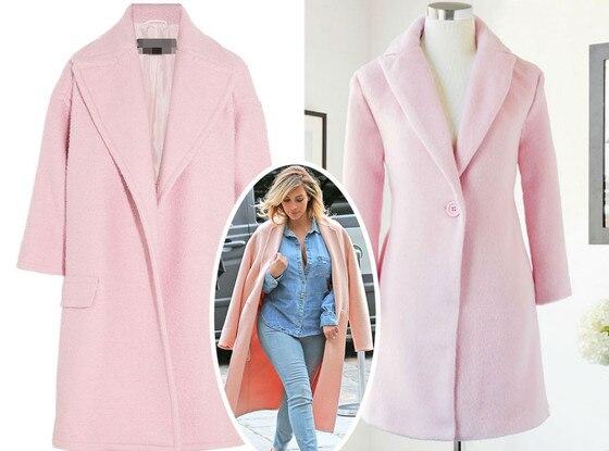 Splurge vs. Steal, Pink Coat Answer