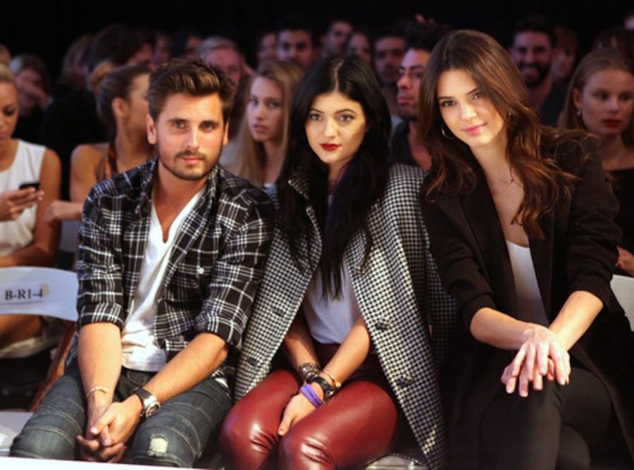 Scott Disick, Kylie Jenner, Kendall Jenner