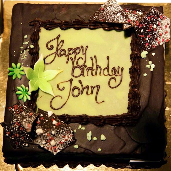 Birthday Cake For John : Katy Perry Tweets Happy Birthday Cutie to Boyfriend John ...