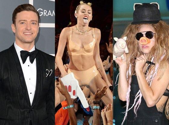 Lady Gaga, Miley Cyrus, Justin Timberlake, Halloween Costumes
