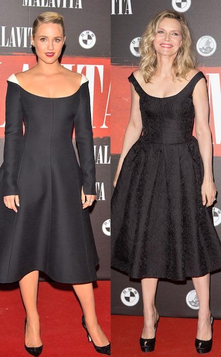 Dianna Agron, Michelle Pfeiffer