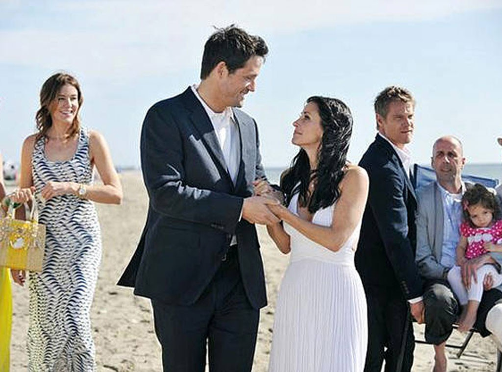 Cougar Town, TV Weddings
