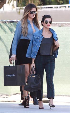 Khloe Kardashian Odom, Kourtney Kardashian