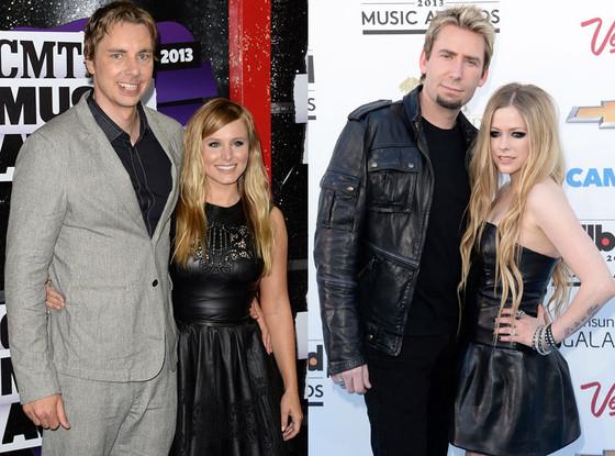 Kristen Bell, Dax Shepard, Avril Lavigne, Chad Kroeger