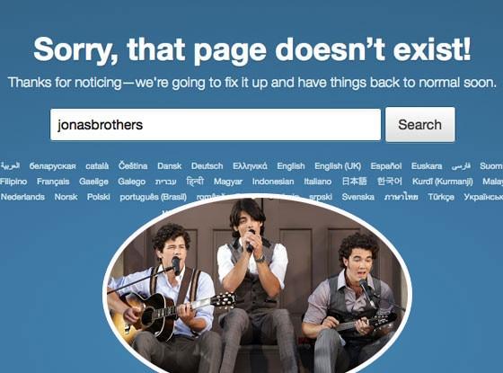 Jonas Brothers Twitter