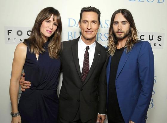Jennifer Garner, Matthew McConaughey, Jared Leto