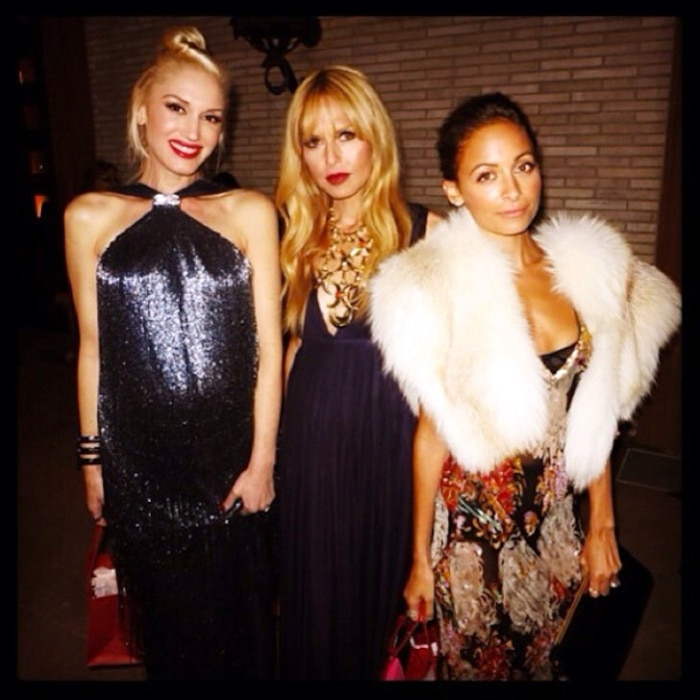 Nicole Richie, Rachel Zoe, Gwen Stefani, Instagram