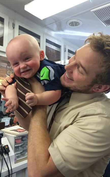 Chris Pratt, Anna Faris, Cutest Family Moments