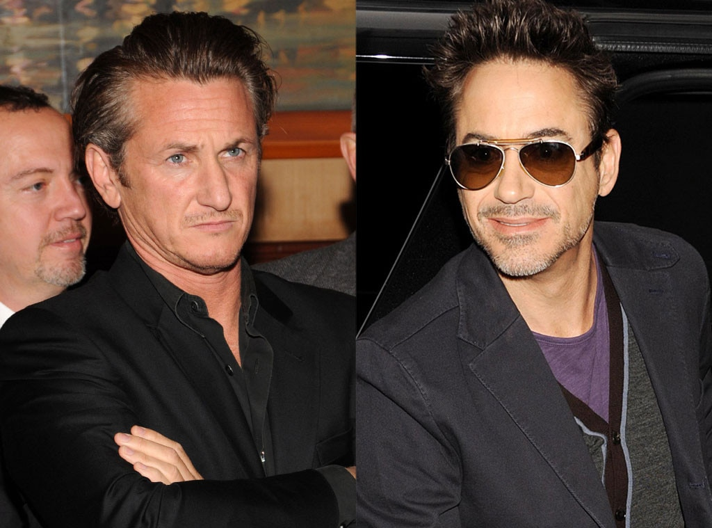 Sean Penn, Robert Downey Jr, Famous Classmates