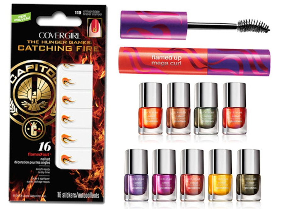 Catching Fire CoverGirl makeup
