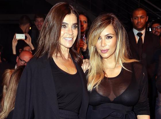 Carine Roitfeld, Kim Kardashian