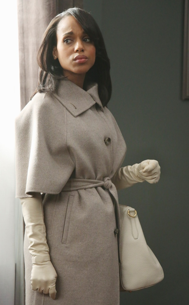 Max Mara Coat, Dorothy Gaspar Gloves from Olivia Pope's ...