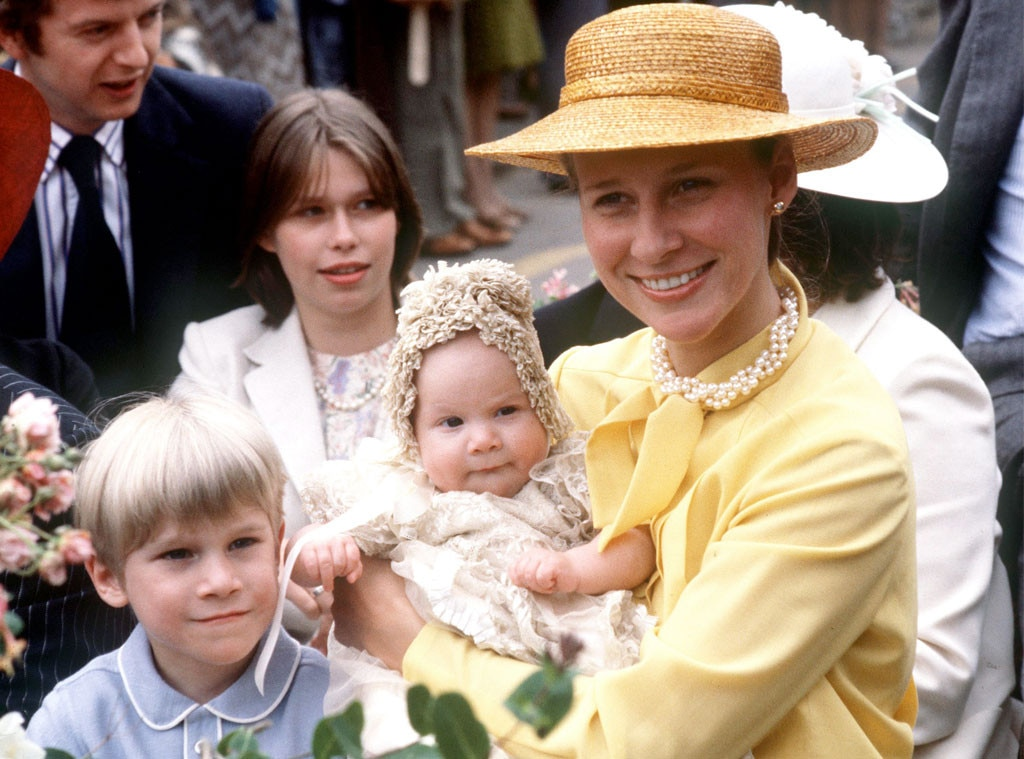 Royal Christening, Duchess Of Gloucester, The Earl Of Ulster, Baby Lady Rose Windsor