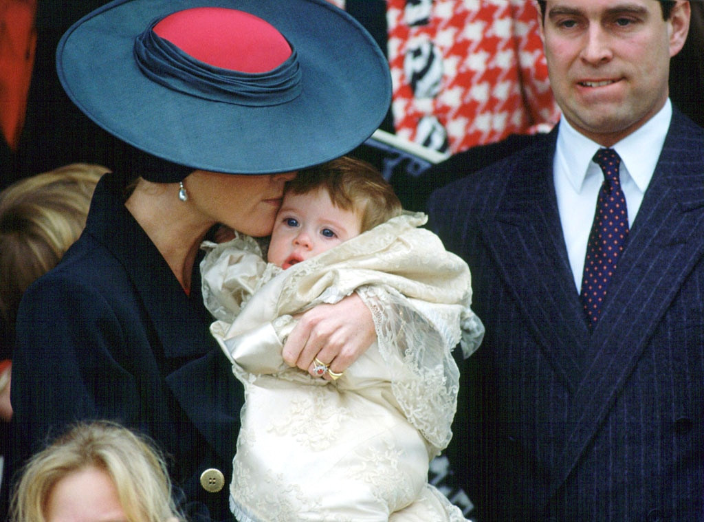 Royal Christening, Princess Eugenie, The Cuchees of York, Prince Andrew