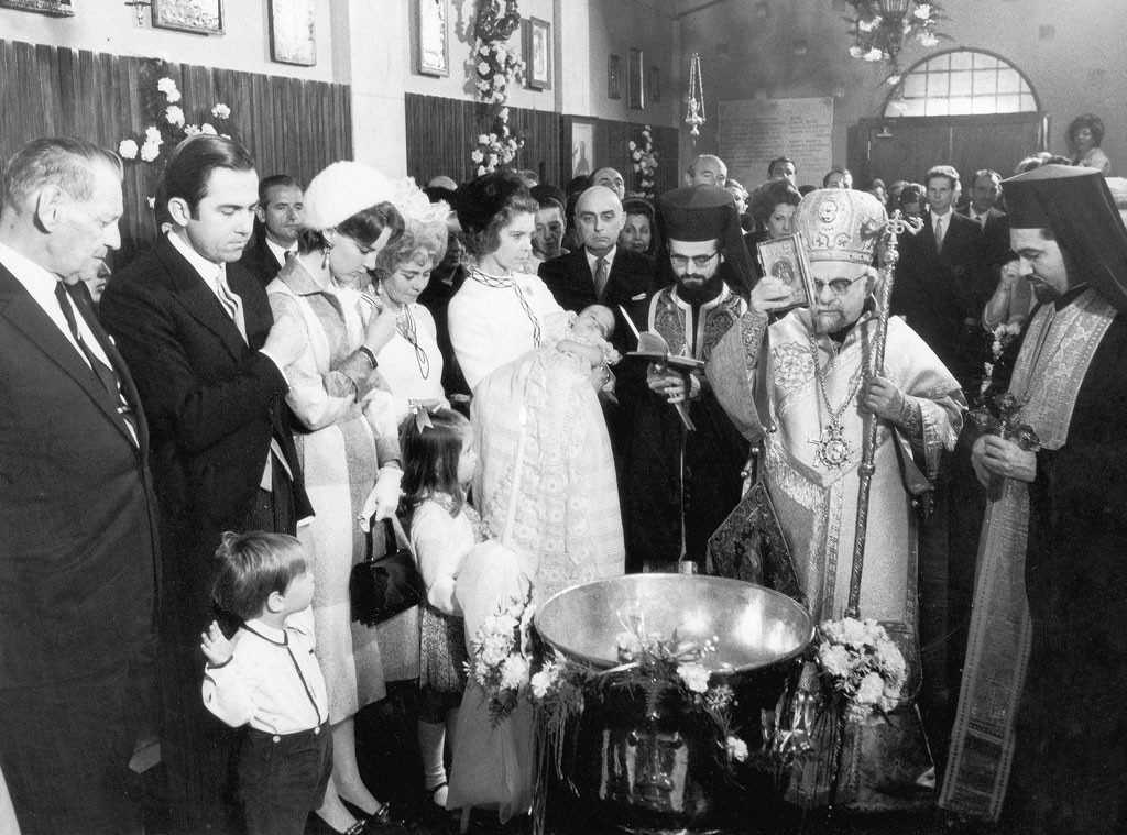 Royal Christening, Nicola, son of Constantine II of Greece