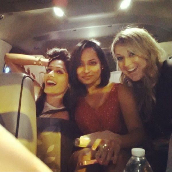Freida Pinto, Birthday Instagram