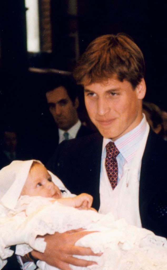 Royal Christening, Prince William, Godson, Konstantine Alexios