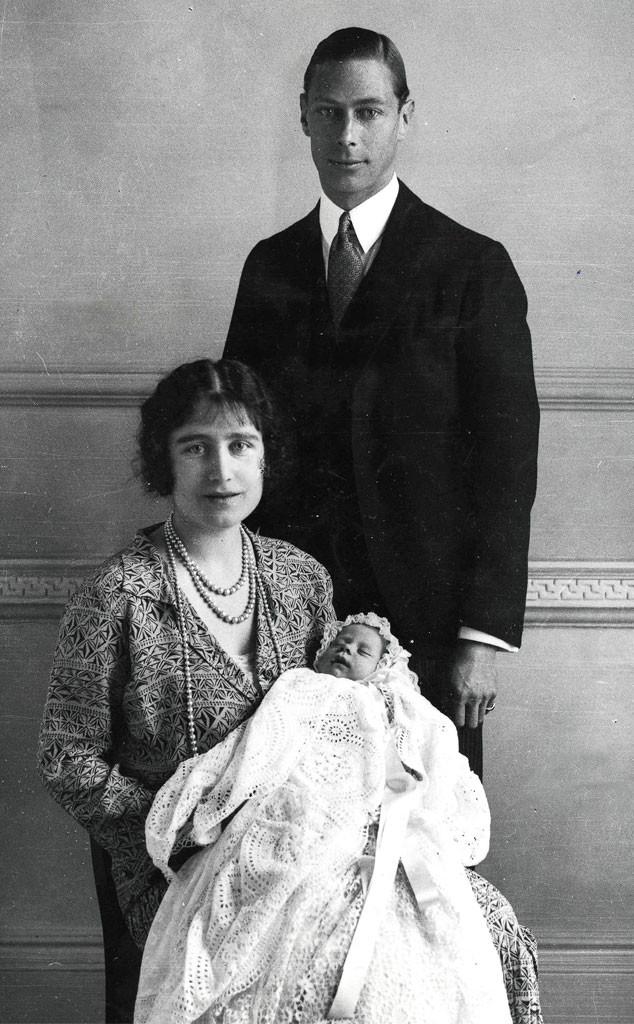 Royal Christening, King George VI, Queen Elizabeth, Queen Mother, Queen Elizabeth II