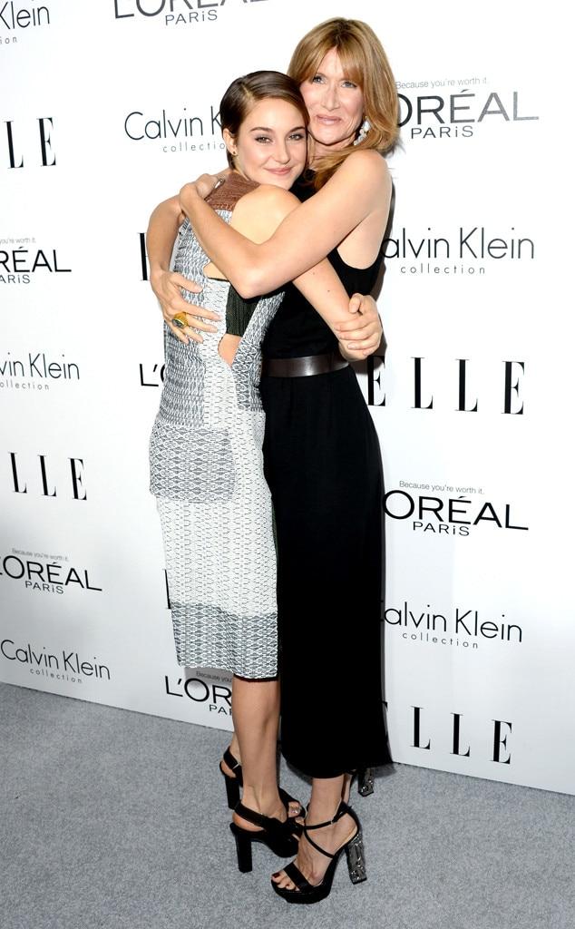 Shailene Woodley, Laura Dern, ELLE's 20th Annual Women In Hollywood Celebration