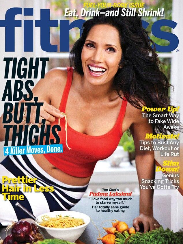 Padma Lakshmi, Fitness Magazine