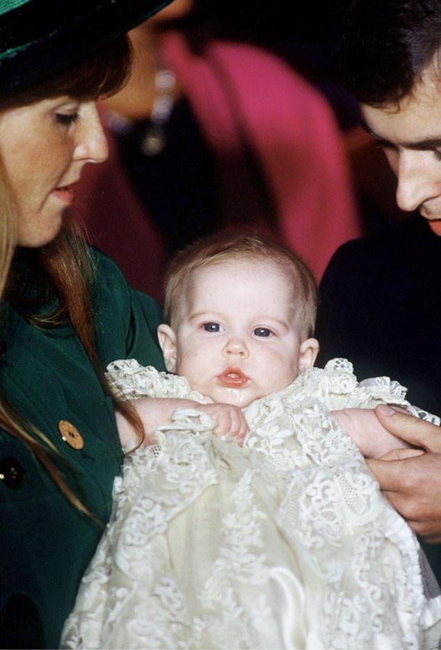 Royal Christening, Princess Beatrice Of York, Fergie