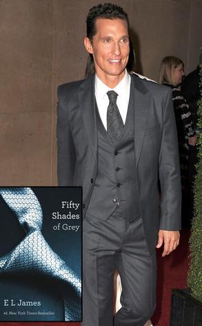 Matthew McConaughey, Fifty Shades of Grey