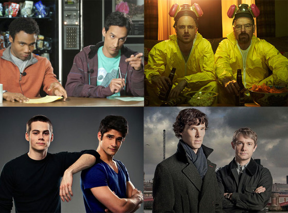 TV Costumes: Community, Breaking Bad, Teen Wolf, Sherlock Holmes