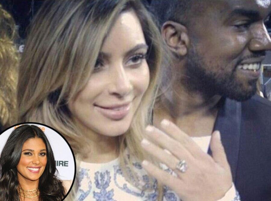Kim Kardashian, Kanye West, Engagement, Rachel Roy