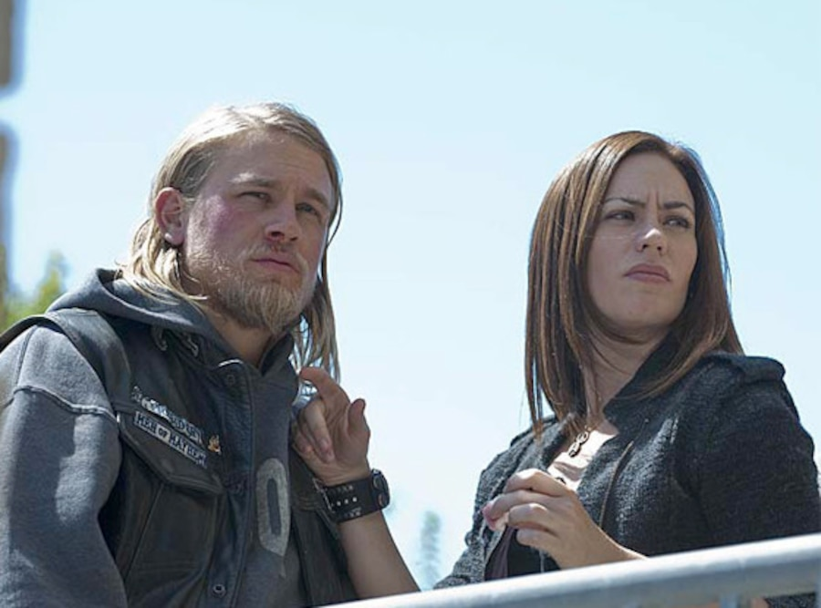 Sons of Anarchy,  Maggie Siff, Charlie Hunnam