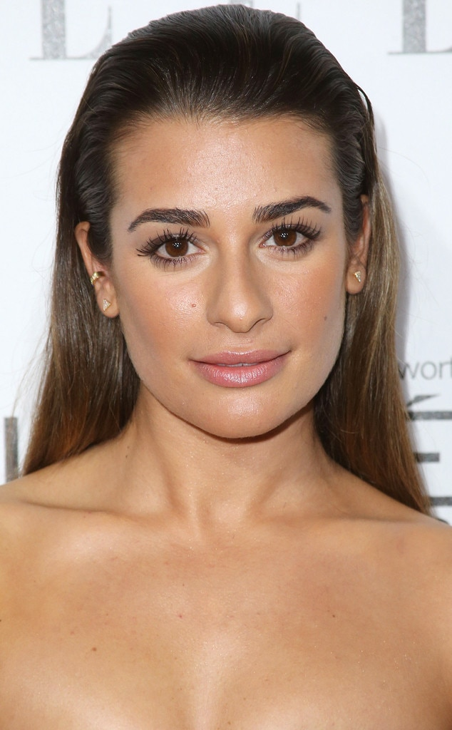 lea michele from daily beauty moment e news
