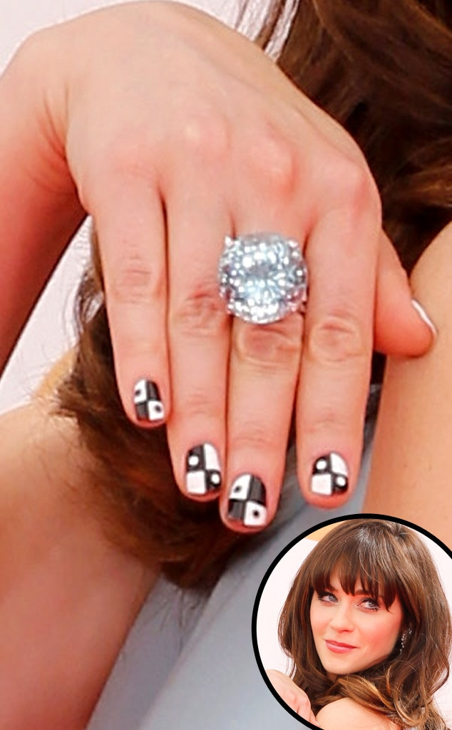 Nail Art, Zooey Deschanel