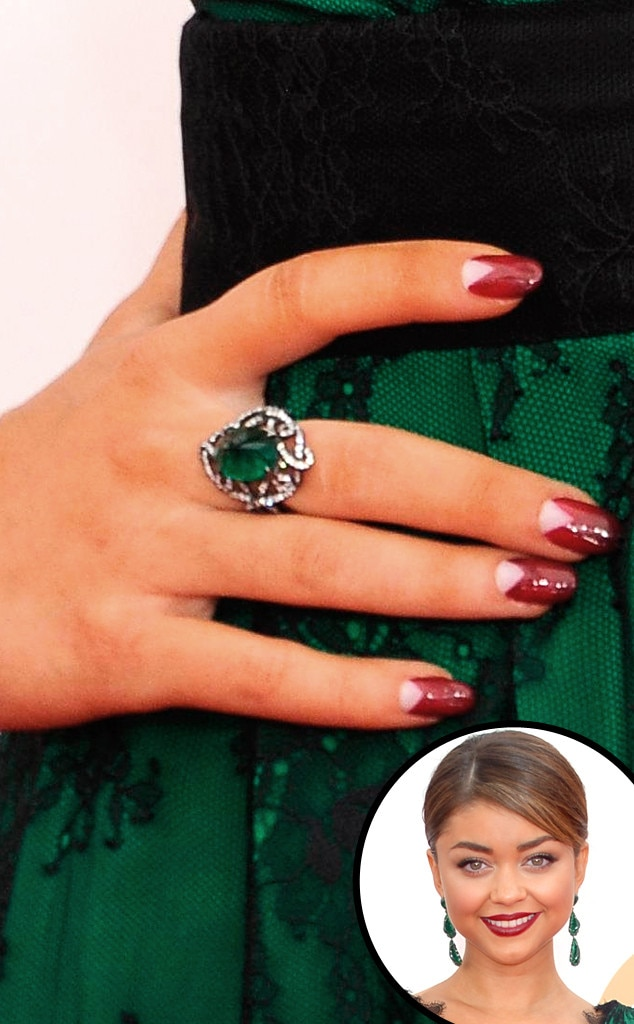 Modern Manicure From Celebs Nail It