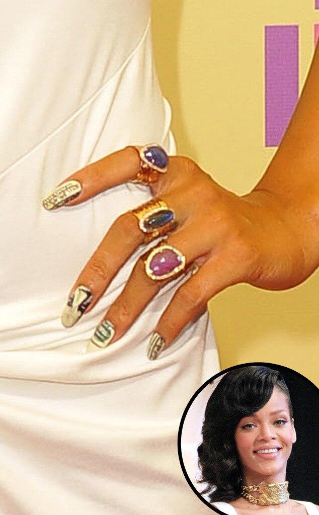 Rihanna, Nail Art