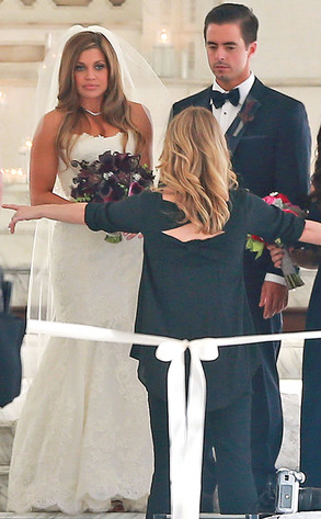 Danielle Fishel, Tim Belusko, Wedding