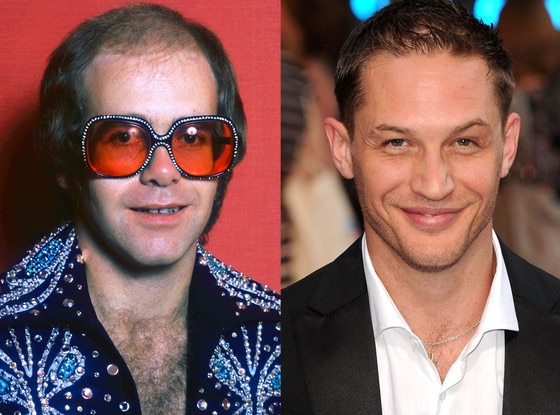 Elton John, Tom Hardy