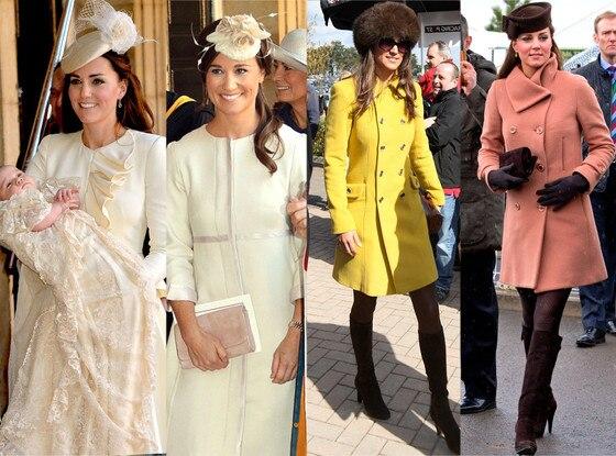 Kate Middleton, Pippa Middleton, Twinsies