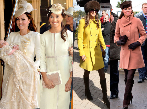 Kate Middleton, Pippa Middleton, Twinsies