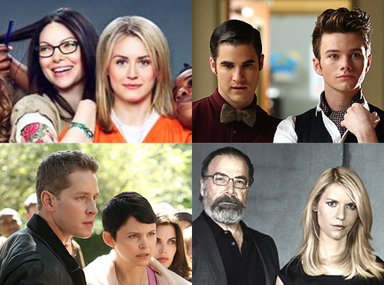 Claire Danes, Mandy Patinkin, Laura Prepon, Taylor Schilling, Ginnifer Goodwin, Josh Dallas, Darren Criss, Chris Colfer