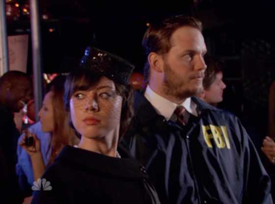 Aubrey Plaza, Chris Pratt, Parks and Rec, Janet Snakehole, Bert Macklin